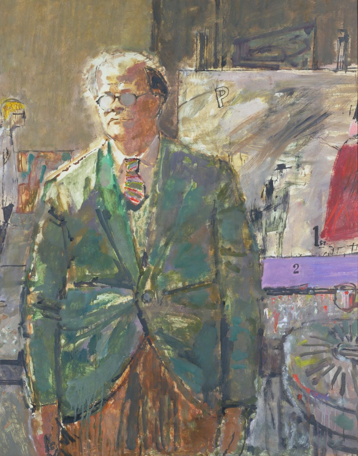 Professor Carel Weight 1961 by Ruskin Spear 1911-1990