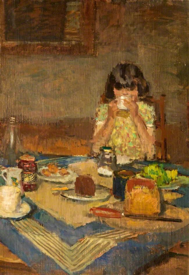 Spear, Ruskin; The Tea Table